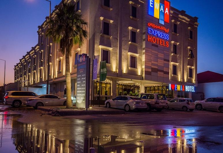 Ewaa Express Hotel - Gaber, Riyadh, Hadapan Hotel
