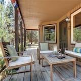 小屋, 2 張加大雙人床, 熱水浴缸, 河景 - 露台