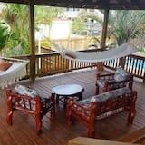 Deluxe vila - Pogled s balkona