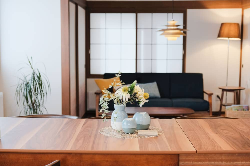 Коттедж (Private Vacation Home) - Зона гостиной