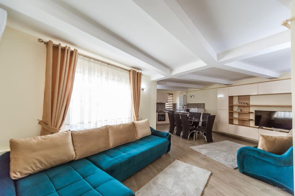 Apartamento Deluxe - Sala de Estar