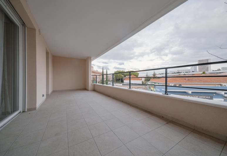Appartements Marseille avec parking, Marseille, Apartment, 1 Double Bed with Sofa bed, Terrace/Patio