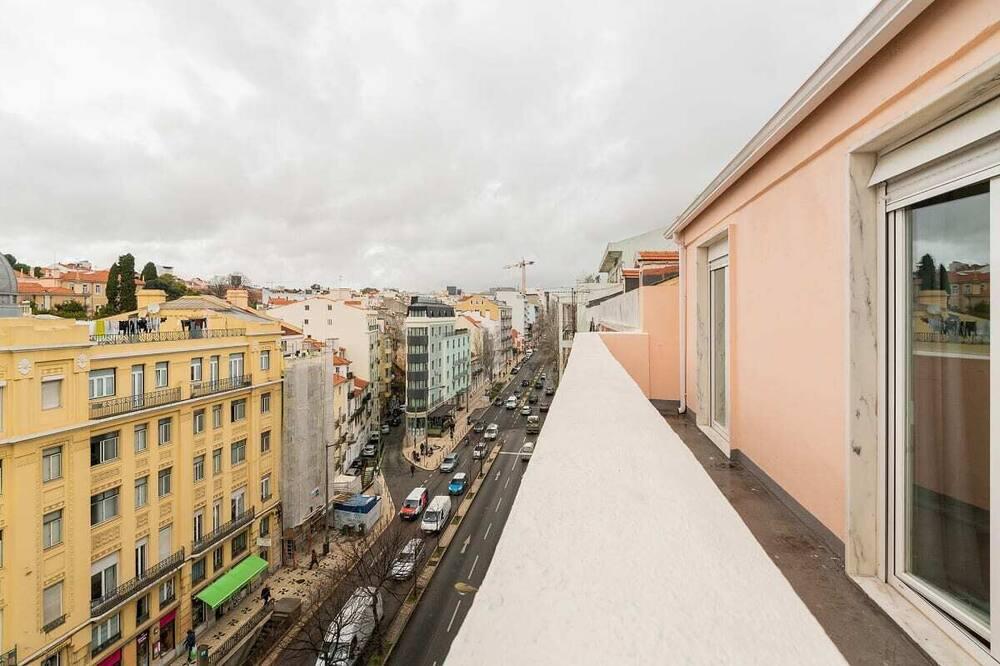 apartman (4 Bedrooms) - Erkély