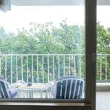 Appartamento Deluxe, 1 camera da letto, balcone, vista città - Balcone