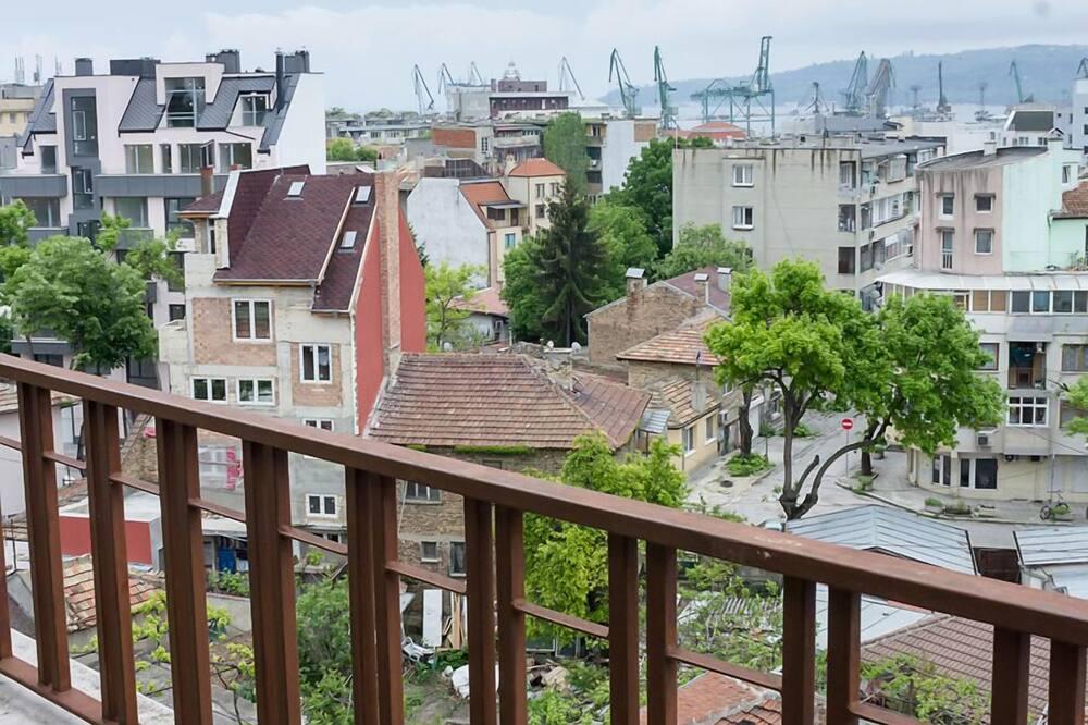 Deluxe Διαμέρισμα, 1 Υπνοδωμάτιο, Μπαλκόνι, Θέα στο Λιμάνι - Μπαλκόνι