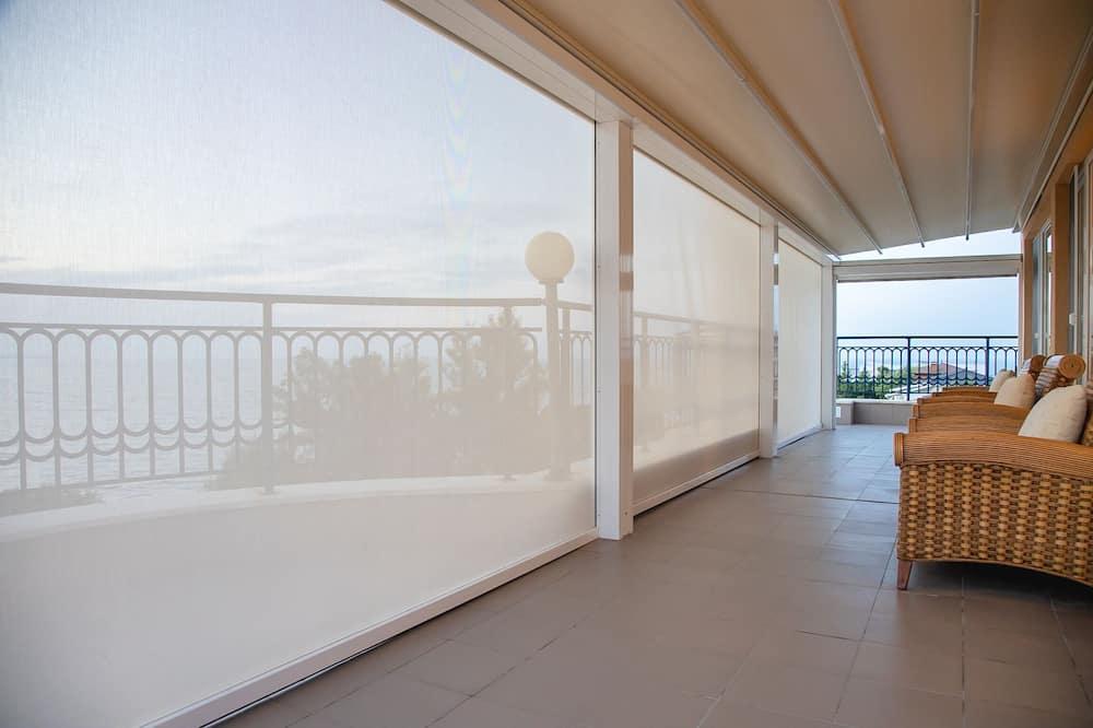 Deluxe Apartment, 2 Bedrooms, Balcony, Sea View - Balcony