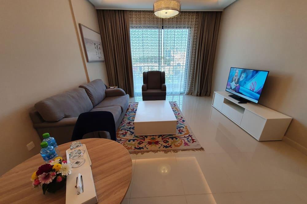 豪華套房, 1 間臥室 - 客廳