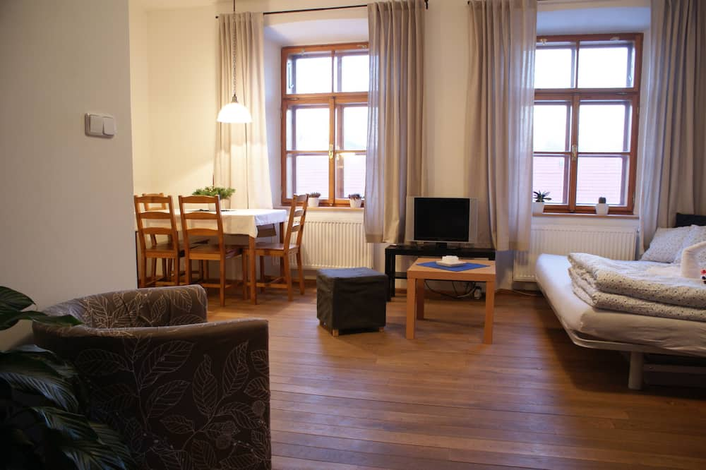 Pilsētklases dzīvokļnumurs - Dzīvojamā istaba