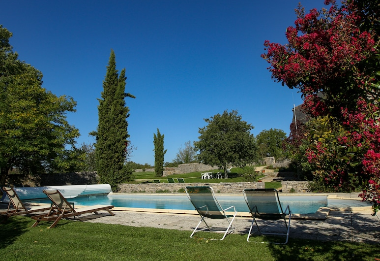 Studio La Forge, Domaine de la Rhue, Rocamadour, Outdoor Pool