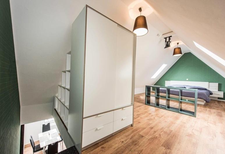 Pension Michelangelo, Eisenach, Maisonette Apartment Teonia for single use, Guest Room