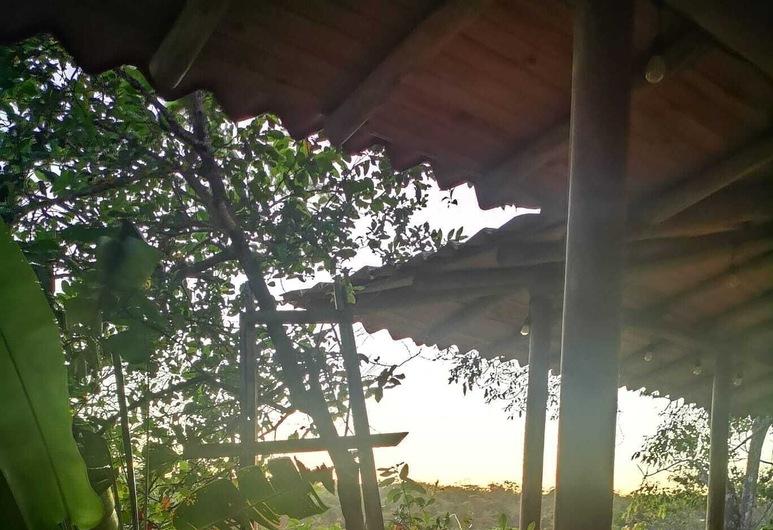 Suite dos Sonhos do Viajante em Soul Fire Casitas, Cobano, Varanda
