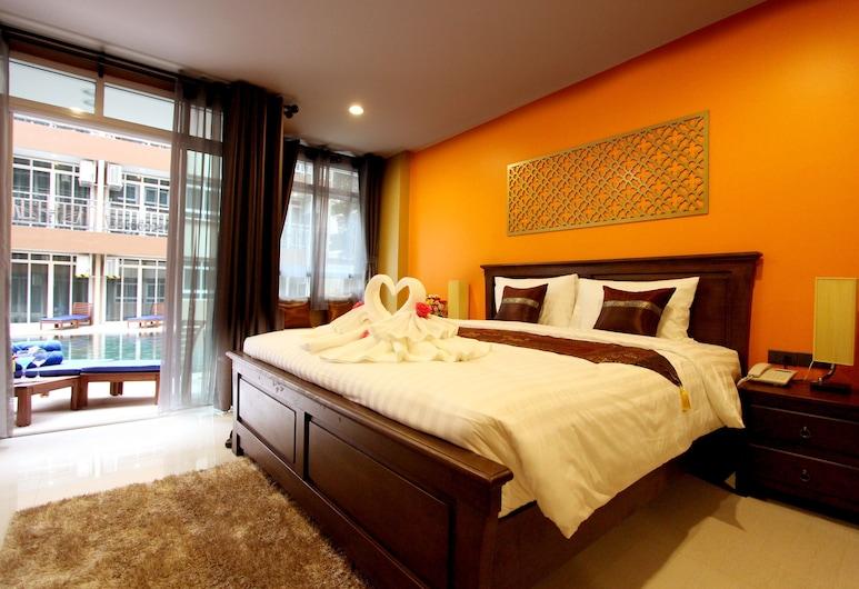 ル バンコク ホテル, バンコク, Deluxe Room with Pool Access, 部屋
