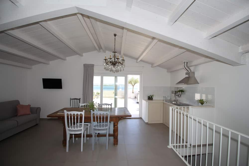 Apartament typu Deluxe Suite, widok na morze - Powierzchnia mieszkalna
