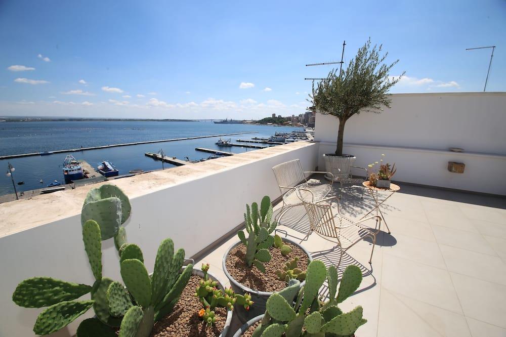 Apartament typu Deluxe Suite, widok na morze - Taras/patio