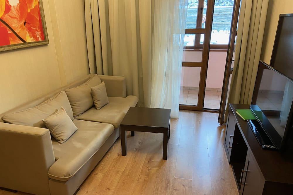 Apartamento Comfort, 2 Quartos - Área de Estar