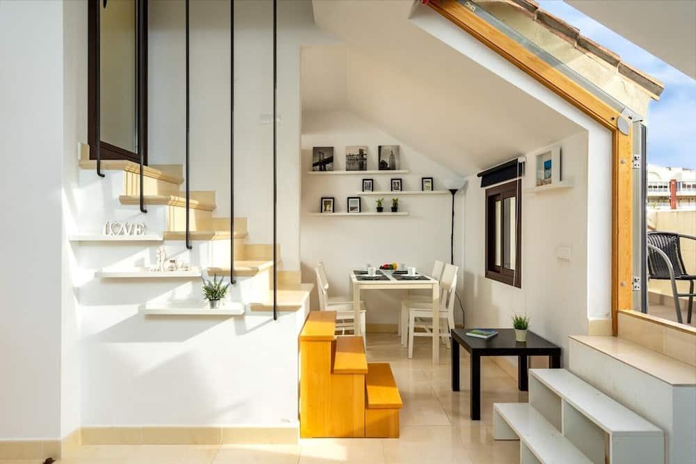 Penthouse, 1 slaapkamer - Woonruimte