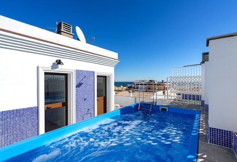 Unique Penthouse with Private Pool Ref 19, Mijas, Rooftop Pool