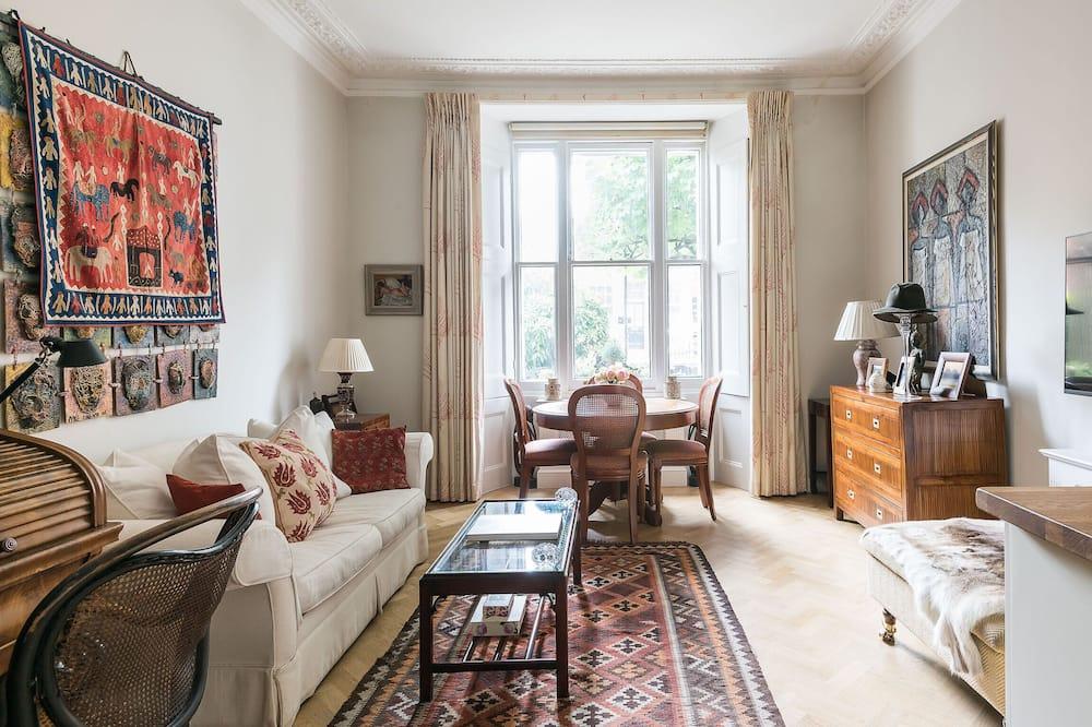 Розкішні апартаменти - Вітальня