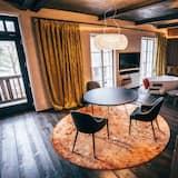 Deluxe-Apartment, Balkon - Wohnzimmer