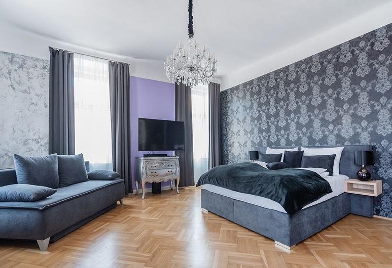 Sophies Place Yppenplatz, Viena, Apartamento grand (incl. cleaning fee), Quarto