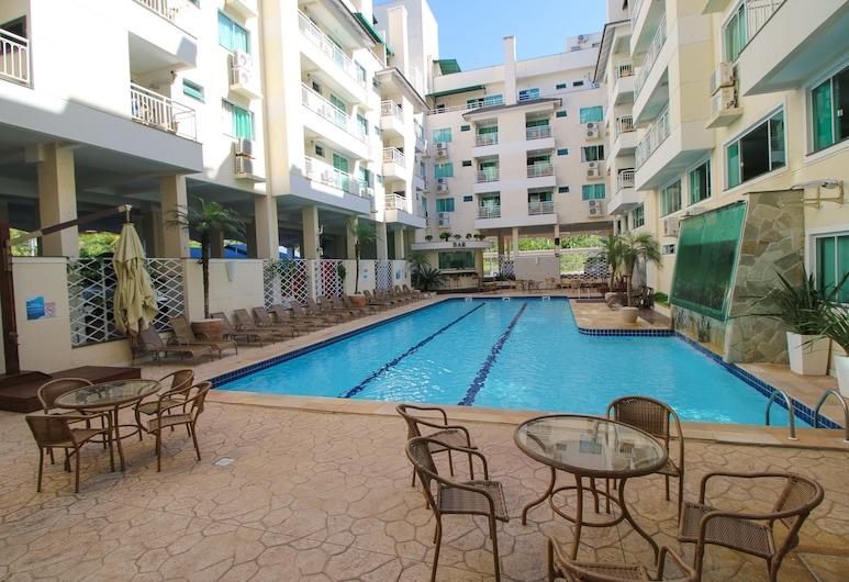 Aluguel Apartamento 1 quarto Summer Beach Piscina - 586, Bombinhas, Āra baseins