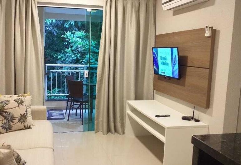 Aluguel Apartamento 1 quarto Summer Beach Piscina - 184A, Bombinhas, Apartment, Living Room