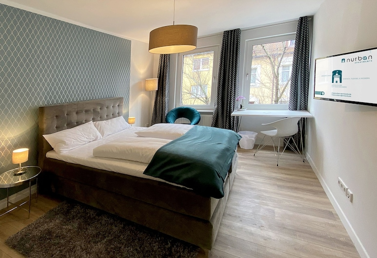 Nurban Apartments City, Nuremberg, Deluxe Apartment, 2 Bedrooms, Room