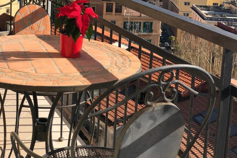 Paaugstināta komforta divvietīgs numurs, nesmēķētājiem, skats uz jūru (Verde) - Skats no balkona