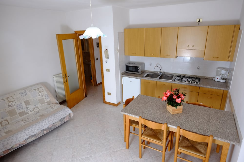 Апартаменти, 2 спальні, з балконом, з видом на гори - Житлова площа