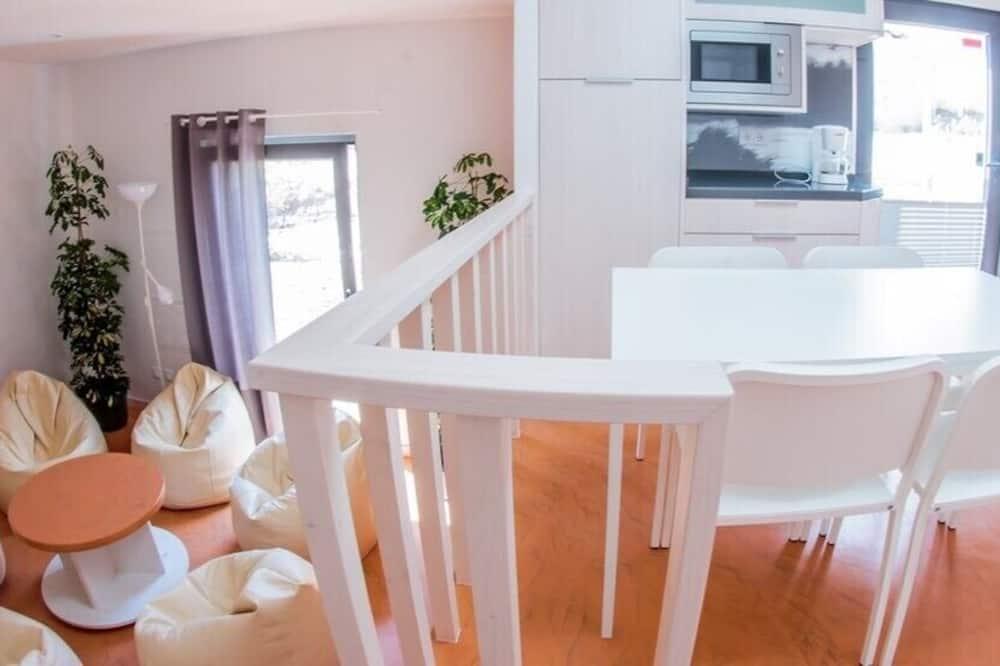 單棟小屋, 2 間臥室 - 客房內用餐