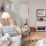 Dom, viacero postelí, kuchyňa, výhľad na záhradu - Obývačka