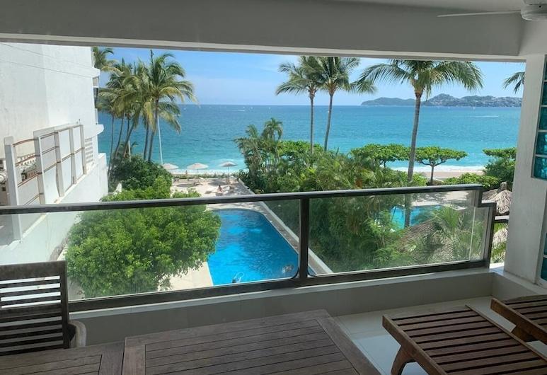 JUUB Acapulco, Exclusive Beachfront Apartment, Acapulco, Apartment, Balkoni