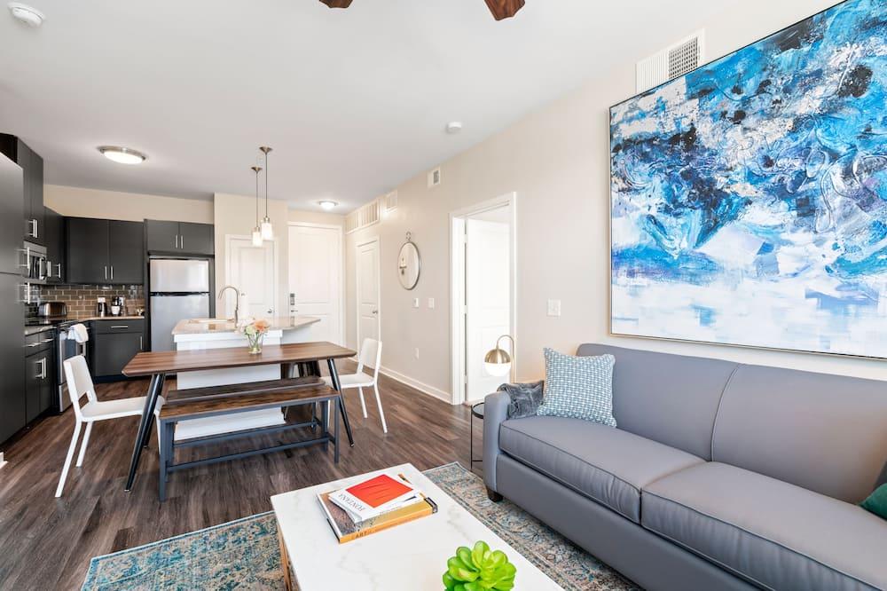 家庭公寓, 2 間臥室, 非吸煙房, 2 間浴室 - 客廳