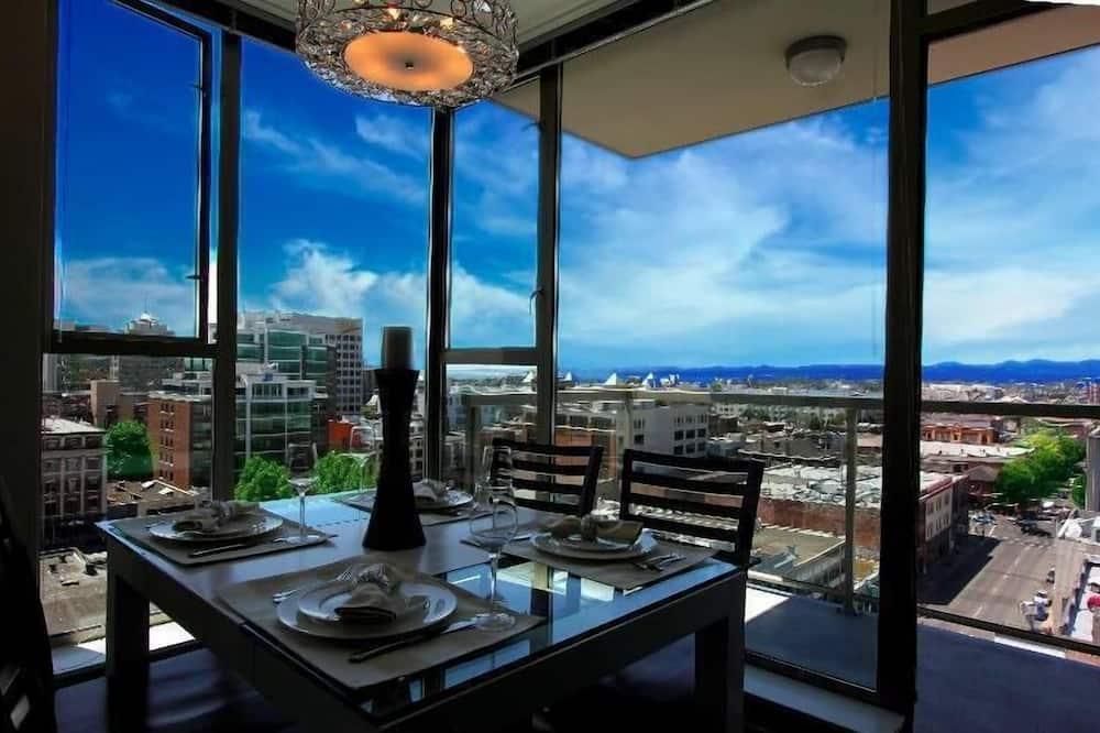 豪華公寓客房 - 客房餐飲服務
