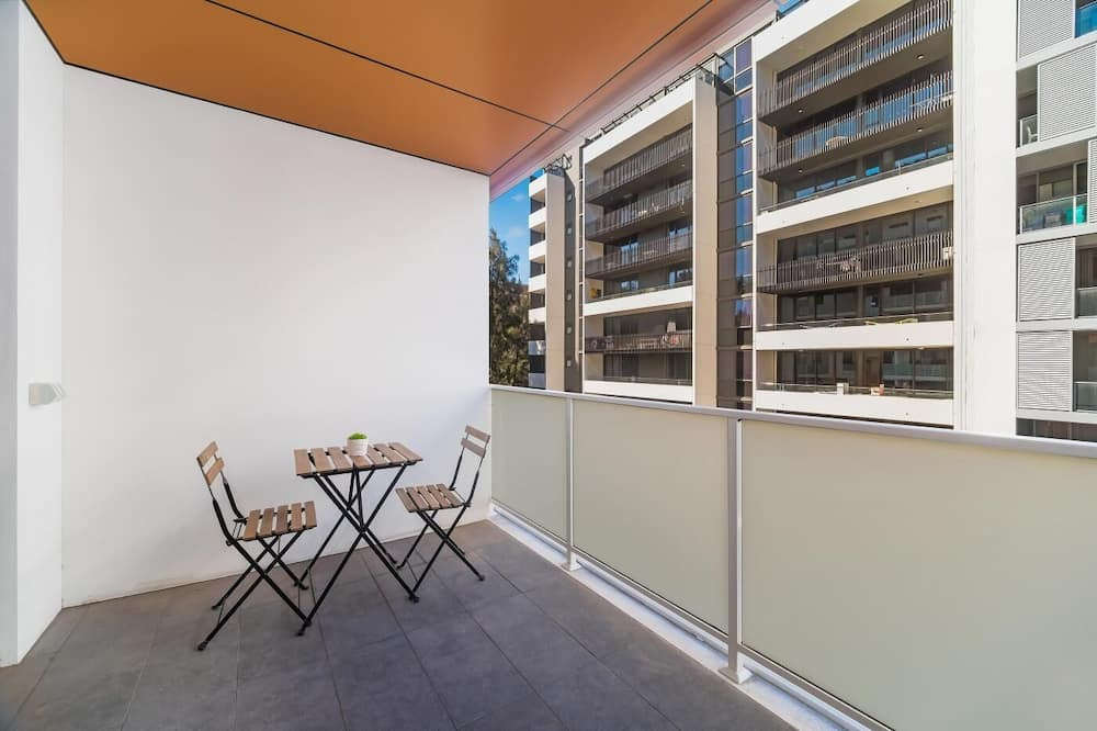 Апартаменты, 2 спальни - Балкон