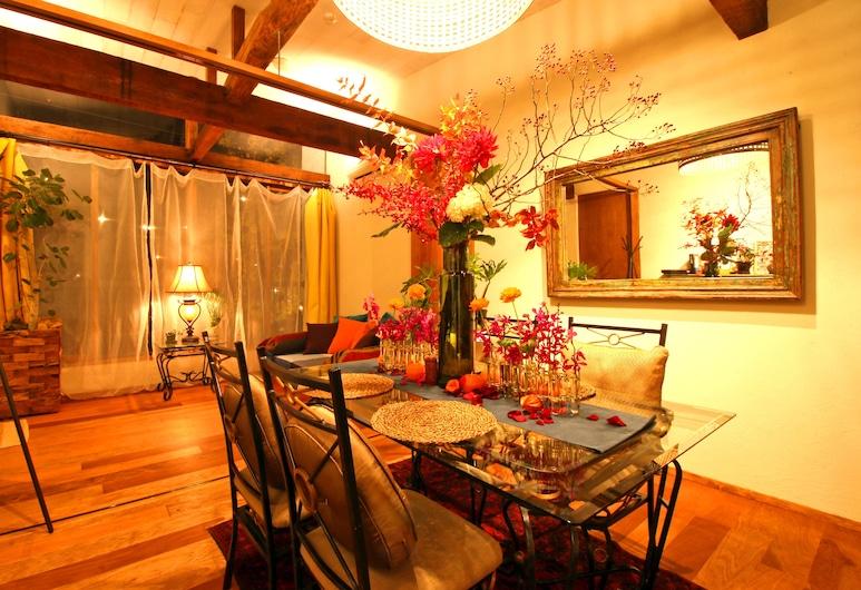 Matahari Annex Stay, Kyoto, Private Suite Room, Living Area