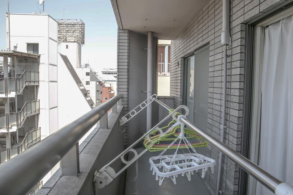 Familienapartment (Standard, G01) - Balkon