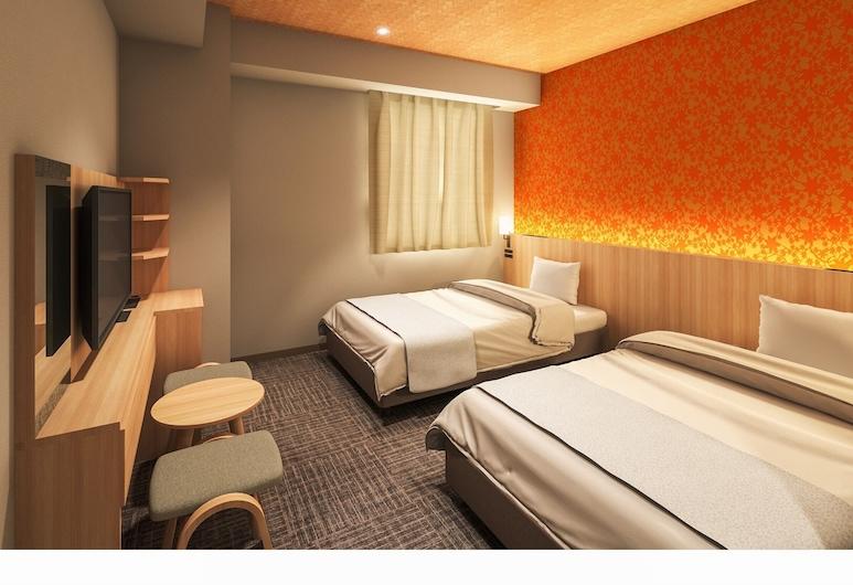 Tosei Hotel Cocone Asakusa Kuramae, Tokyo, Standard Twin Room, Guest Room