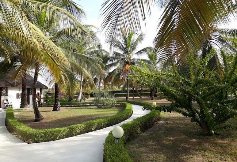 Hotel Katakalousse Peche Loisirs , Cap Skirring, Hotelli territoorium