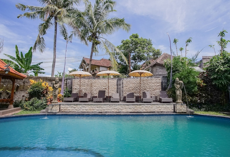 Abangan Bungalow, Ubud, Piscine en plein air