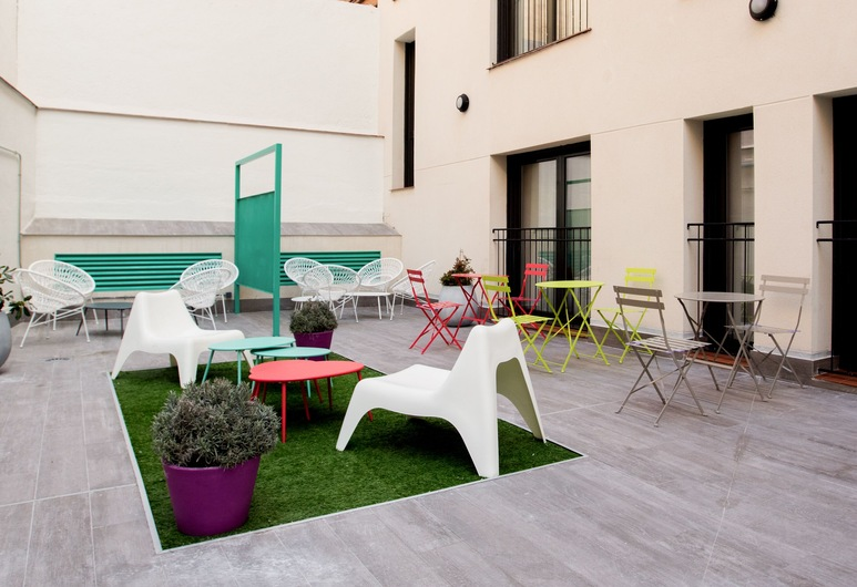 Welcomer Apartments Madrid, マドリード, 中庭