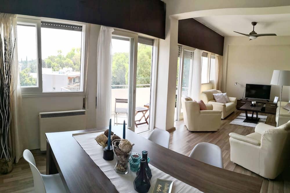 Apartamento City - Sala de estar