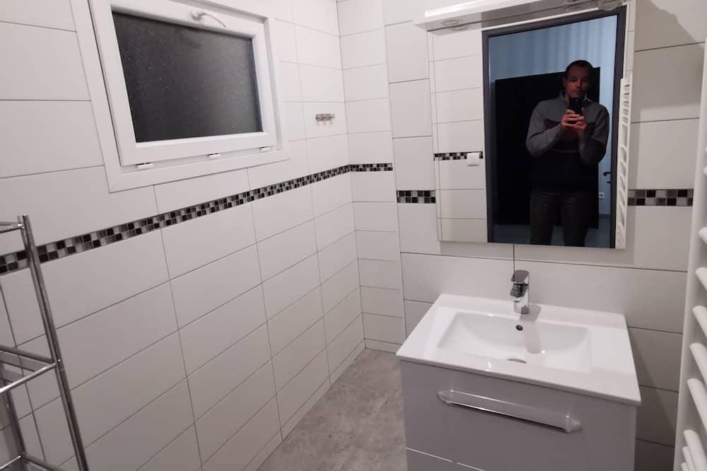 Comfort-feriehus - eget badeværelse - Badeværelse