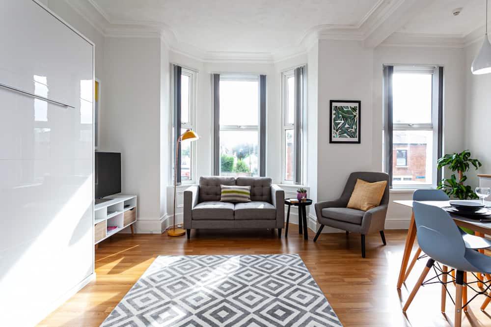 Studio Premium, kamar mandi pribadi (Flat4 Fulwood Heights) - Lounge