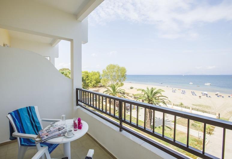 San Marina Hotel, Kerkyra, Kambarys šeimai, vaizdas į sodą, Balkonas