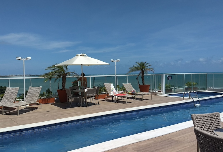 Bessa - 200 m From the Sea, apt w / Full Leisure for 4 People, Joao Pessoa
