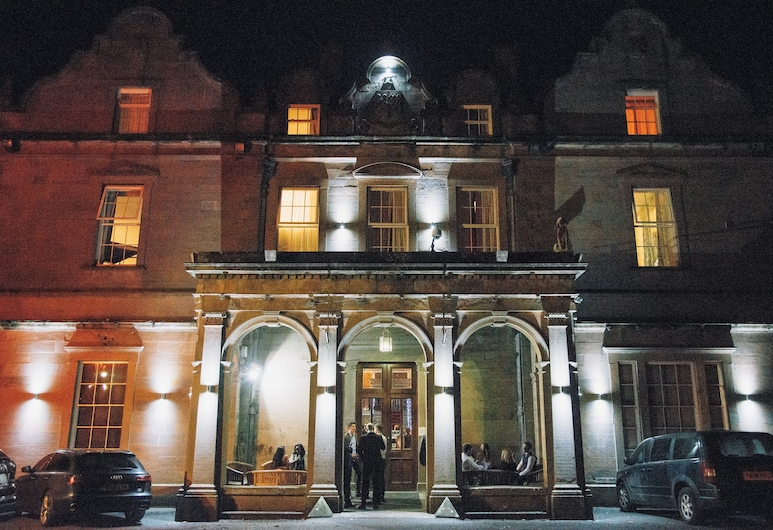 Baskerville Hall Hotel, Hereford, Hotel Front – Evening/Night