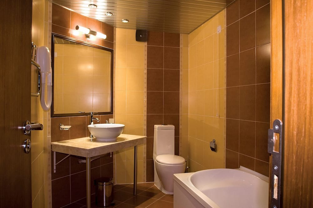 Phòng đơn Economy - Phòng tắm