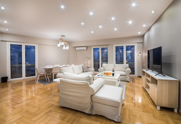 Acropolis Promenade Apartment, 아테네, 아파트, 거실 공간