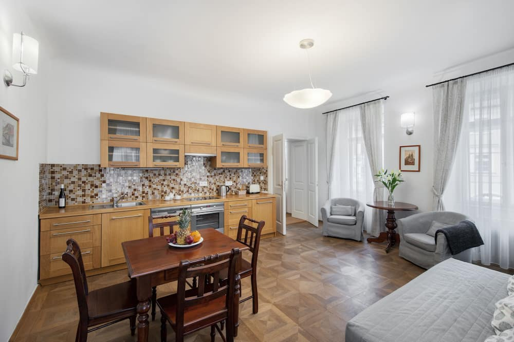 Apartament, 2 sypialnie - Powierzchnia mieszkalna